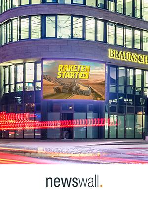Newswall Braunschweig